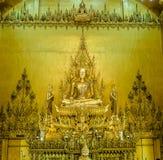 Guld- tempel, den guld- templet Arkivbilder