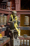 Guld- tempel i Patan, Lalitpur stad, Nepal Arkivbilder