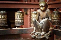 Guld- tempel i Patan, Lalitpur stad, Nepal Arkivfoton