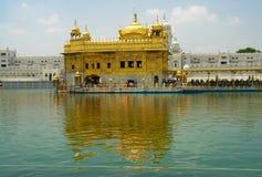 Guld- tempel Indien Fotografering för Bildbyråer