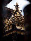 Guld- tempel, Patan Royaltyfri Foto