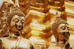 Guld- tempel, Thailand Fotografering för Bildbyråer