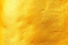 guld- textur för bakgrund och design Royaltyfri Bild