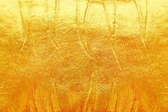 guld- textur för bakgrund och design Fotografering för Bildbyråer