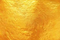 guld- textur för bakgrund och design Royaltyfri Foto