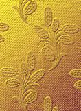 guld- textur för tyg Royaltyfri Fotografi
