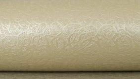Guld- texturbakgrund Royaltyfri Fotografi