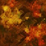 Guld- texturbakgrund Royaltyfri Bild
