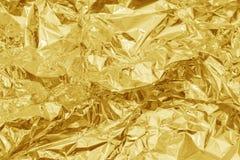 Guld- texturbakgrund Royaltyfria Bilder