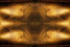 Guld- texturenheter på en svart bakgrund Royaltyfria Foton