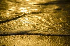 guld- texturer royaltyfri bild