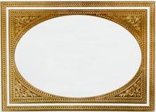 guld- thai för ram Arkivfoto