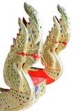 guld- thai traditionellt för drake Royaltyfri Foto