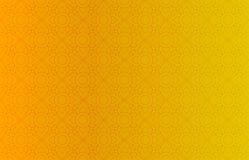 Guld- thailändsk bakgrund för tappningmodellvektor Royaltyfria Bilder
