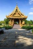 Guld- thailändsk paviljong Royaltyfri Bild