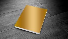 Guld- tidskrift Royaltyfri Fotografi