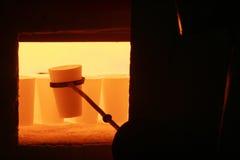 Metallurgy royaltyfria foton