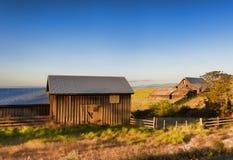 Guld- timme på Dallas Mountain Ranch på den Columbia Hills staten Royaltyfri Fotografi