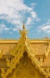 Guld- toalett arkivbilder