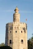 Guld- torn i Sevilla Royaltyfri Fotografi