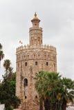 Guld- torn i Seville Arkivfoto