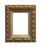 Guld- trä inramar Royaltyfria Foton