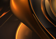 guld- trådar Royaltyfri Fotografi