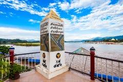 Guld- triangel, Thailand Royaltyfri Foto