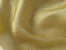 Guld- tyg Royaltyfri Fotografi
