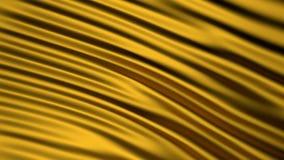 Guld- tyg Grafisk illustration 3d framför Bakgrund Royaltyfria Foton