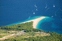 Guld- udd, Kroatien Royaltyfria Bilder