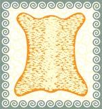 guld- ullbeklädnad Arkivbild