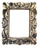guld- utsmyckat för ram royaltyfria bilder