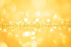 Guld- vår eller sommarbakgrund Royaltyfri Fotografi