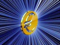 Guld- valuta för valutasymbol stock illustrationer