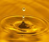 guld- vatten Royaltyfri Foto