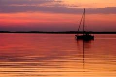 guld- vatten Fotografering för Bildbyråer