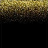 Guld- vattenfall bl?nker begrepp f?r ferie f?r lyckligt nytt ?r f?r bakgrund f?r stj?rnor f?r gnistrande-bubblor champagnepartikl vektor illustrationer
