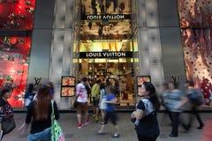 Guld- vecka i Hong Kong Royaltyfria Foton