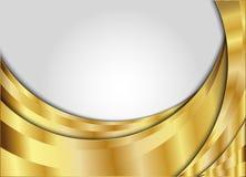 guld- vektor för bakgrund Arkivbilder