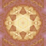 Guld- violet för sömlös brunt för stjärnamodell Arkivfoto
