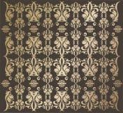 guld- wallpaper Royaltyfri Foto
