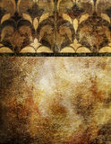 guld- wallpaper Royaltyfri Fotografi