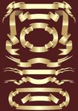 guldband Arkivbild