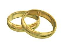 guldcirkel Arkivfoto