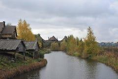 guldcirkel russia Suzdal Arkivbild
