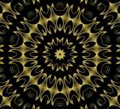 guldfärgstänkwallpaper Arkivfoto