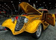 Guldgrävare Ford Phaeton Interpretation 1933, förbi Royaltyfria Bilder