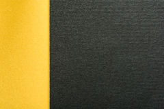 Guldguling och kol Gray Abstract Geometric Background arkivbilder