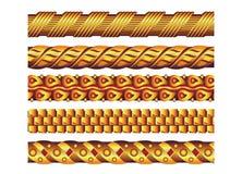 guldhalsband Arkivbild